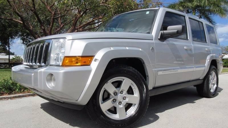 2007 Jeep Commander for sale at DS Motors in Boca Raton FL