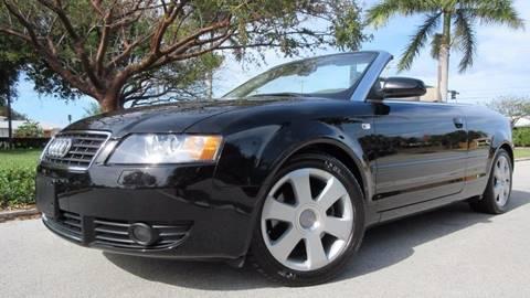 2006 Audi A4 for sale at DS Motors in Boca Raton FL