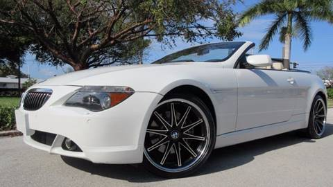 2005 BMW 6 Series for sale at DS Motors in Boca Raton FL
