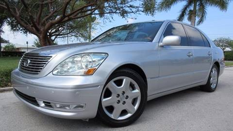 2004 Lexus LS 430 for sale at DS Motors in Boca Raton FL