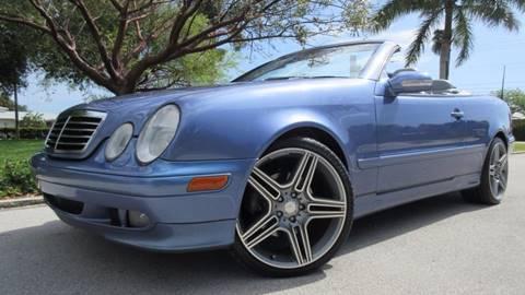 2001 Mercedes-Benz CLK for sale at DS Motors in Boca Raton FL
