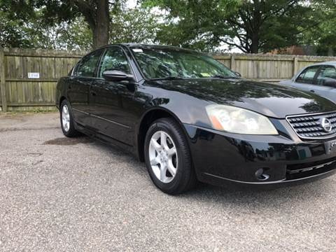 2005 Nissan Altima for sale at North King Auto & Cycle, Inc in Hampton VA