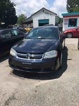 2012 Dodge Avenger for sale at North King Auto & Cycle, Inc in Hampton VA
