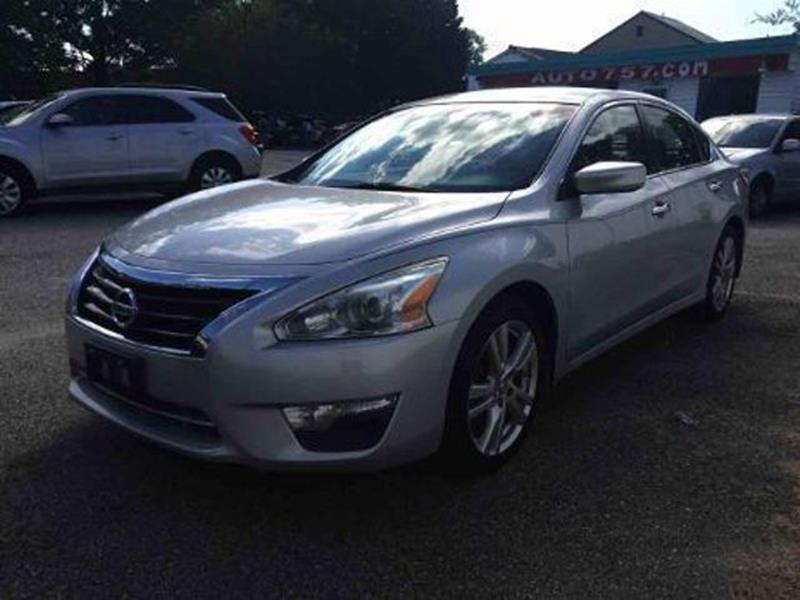 2013 Nissan Altima In Hampton Va North King Auto Cycle Inc