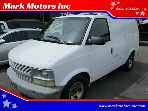 2001 Chevrolet Astro Cargo for sale in Gray, KY