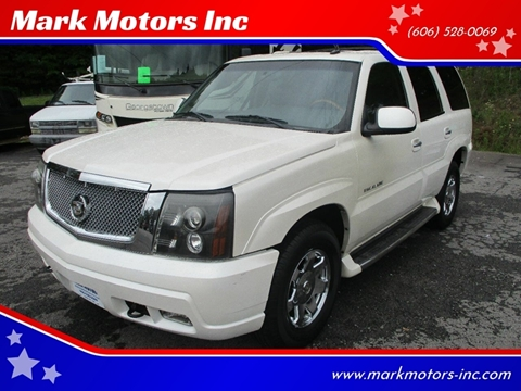 2003 Cadillac Escalade for sale in Gray, KY