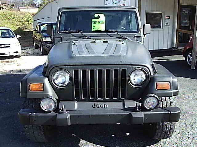 1998 Jeep Wrangler 2dr Sport 4WD SUV - Gray KY