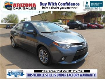 2014 Toyota Corolla for sale in Mesa, AZ