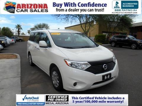 2014 Nissan Quest for sale in Mesa, AZ
