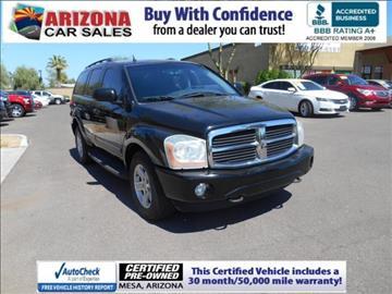 2005 Dodge Durango for sale in Mesa, AZ