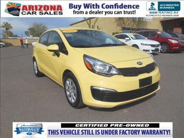 2016 Kia Rio for sale in Mesa, AZ