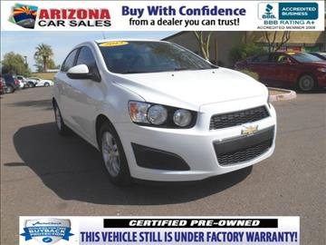2013 Chevrolet Sonic for sale in Mesa, AZ