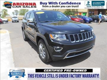 2016 Jeep Grand Cherokee for sale in Mesa, AZ