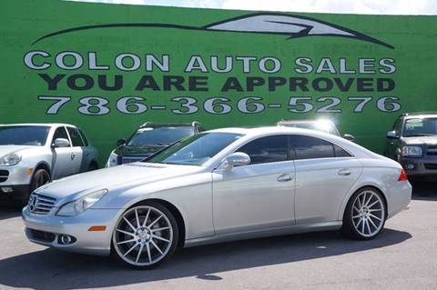 2007 Mercedes-Benz CLS for sale in Miami, FL