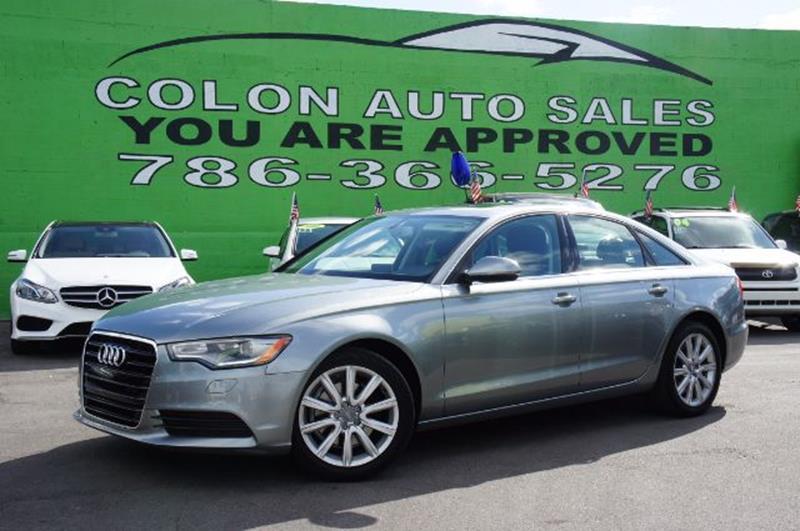Audi A T Premium Plus Dr Sedan In Miami FL COLON AUTO SALES - Audi miami