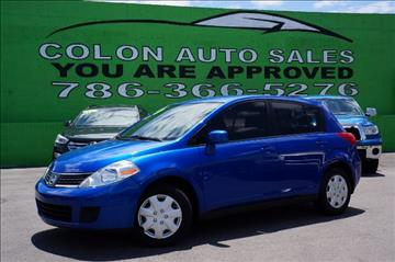 2008 Nissan Versa for sale in Miami, FL