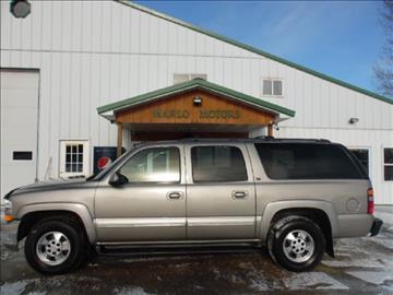 2002 Chevrolet Suburban for sale in Perham, MN