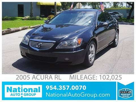 2005 Acura RL for sale in Davie, FL