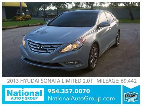 2013 Hyundai Sonata for sale in Davie, FL