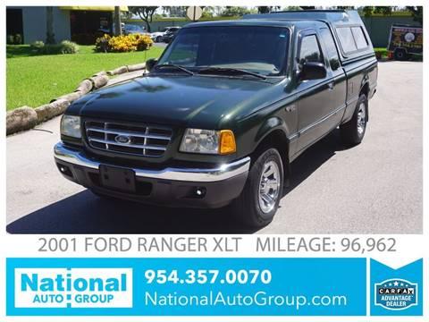 2001 Ford Ranger for sale in Davie, FL