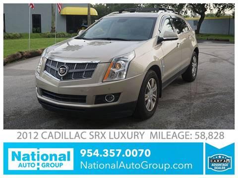 2012 Cadillac SRX for sale in Davie, FL