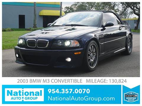 2003 BMW M3 for sale in Davie, FL