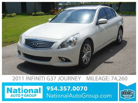 2011 Infiniti G37 Sedan for sale in Davie, FL