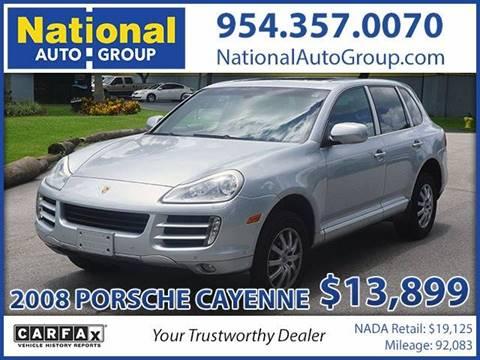 2008 Porsche Cayenne for sale in Davie, FL