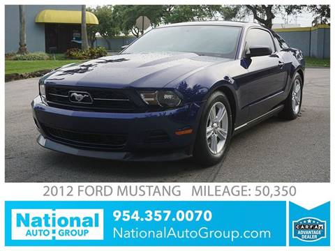 2012 Ford Mustang for sale in Davie, FL