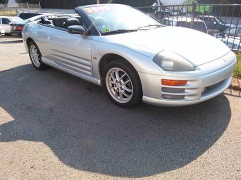 2002 Mitsubishi Eclipse Spyder for sale in Buford, GA