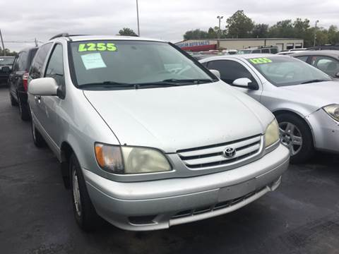 2003 Toyota Sienna for sale in Cahokia, IL