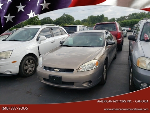 2006 Chevrolet Monte Carlo for sale in Cahokia, IL