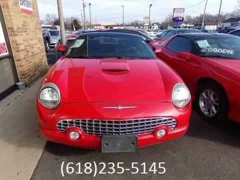 2005 ford thunderbird deluxe 2dr convertible in belleville il 2005 ford thunderbird deluxe 2dr convertible belleville il sciox Image collections