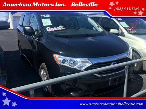 2012 Nissan Quest for sale at American Motors Inc. - Belleville in Belleville IL