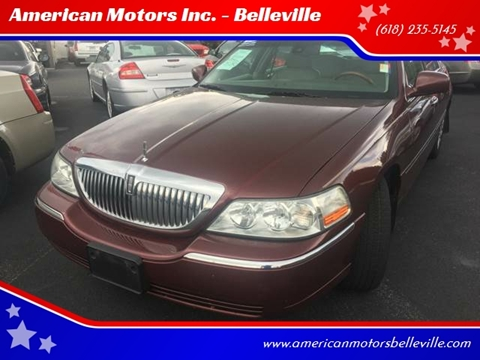 2003 Lincoln Town Car For Sale In Belleville Il
