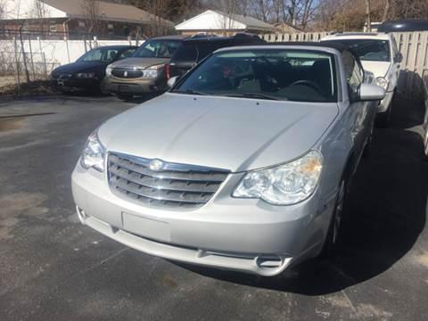 2010 Chrysler Sebring for sale at American Motors Inc. - Belleville in Belleville IL