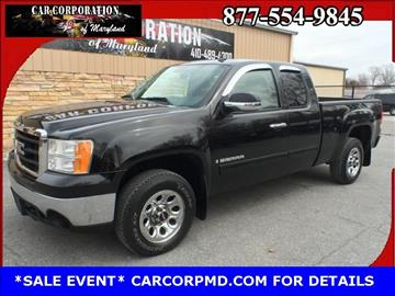2007 GMC Sierra 1500 for sale in Sykesville, MD