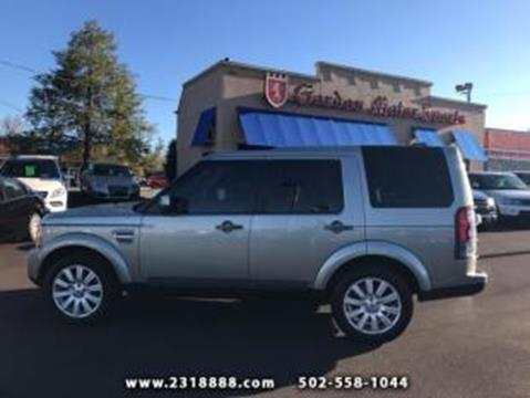 2013 Land Rover LR4 for sale in Louisville, KY