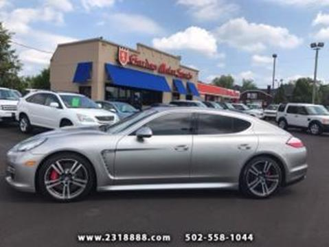 2013 Porsche Panamera for sale in Louisville, KY