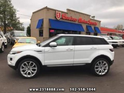 2012 Land Rover Range Rover Evoque for sale in Louisville, KY