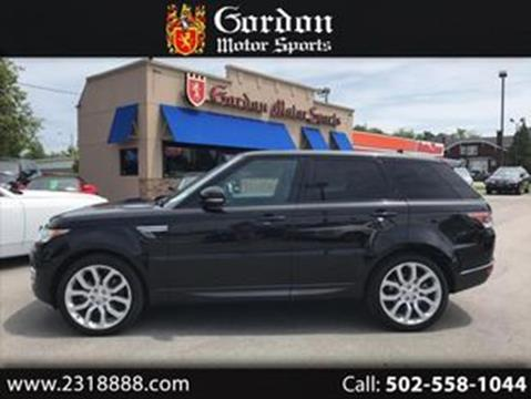 Louisville Land Rover >> Used Land Rover For Sale In Louisville Ky Carsforsale Com