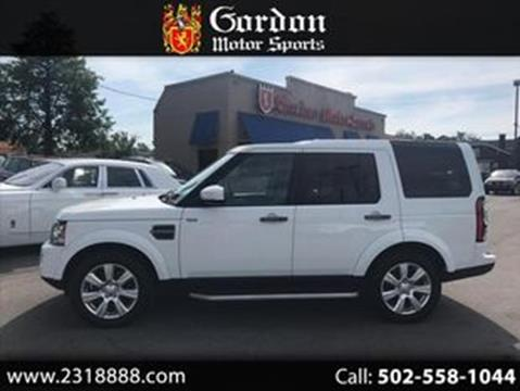 Land Rover Louisville >> Used Land Rover For Sale In Louisville Ky Carsforsale Com