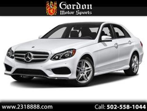 2015 Mercedes-Benz E-Class for sale in Louisville, KY