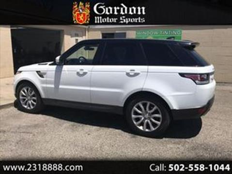 Land Rover Louisville >> 2017 Land Rover Range Rover Sport For Sale In Louisville Ky