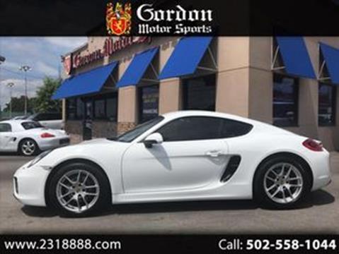 2016 Porsche Cayman for sale in Louisville, KY