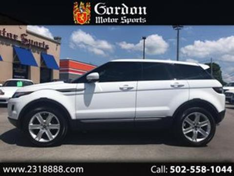2013 Land Rover Range Rover Evoque for sale in Louisville, KY