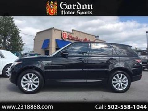 2015 Land Rover Range Rover Sport for sale in Louisville, KY