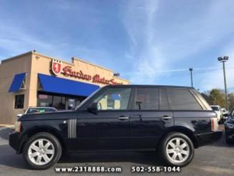 2008 Land Rover Range Rover for sale in Louisville, KY