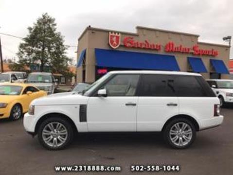 2011 Land Rover Range Rover for sale in Louisville, KY