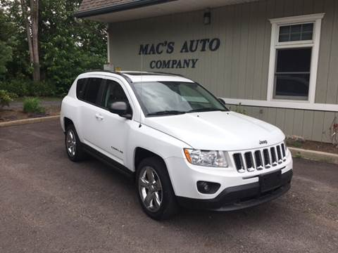 2011 Jeep Compass for sale at MAC'S AUTO COMPANY in Nanticoke PA